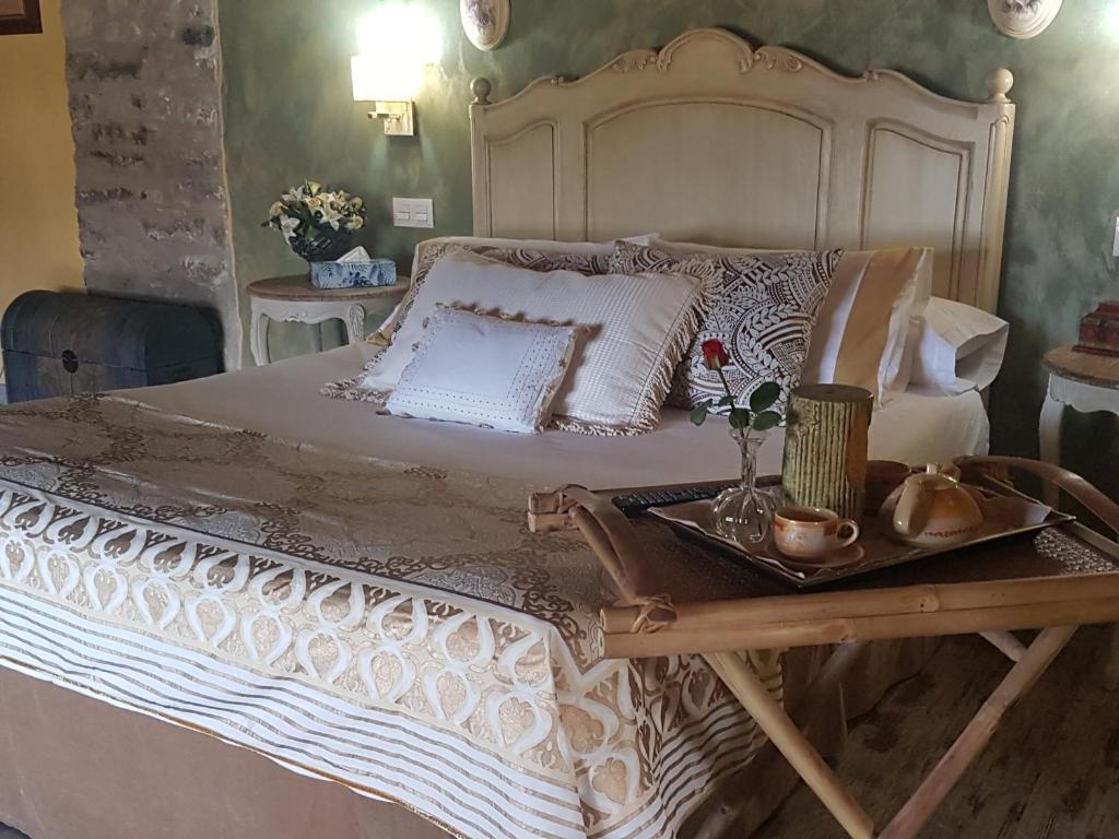 Cama o camas de una habitación en Las Tres Herraduras