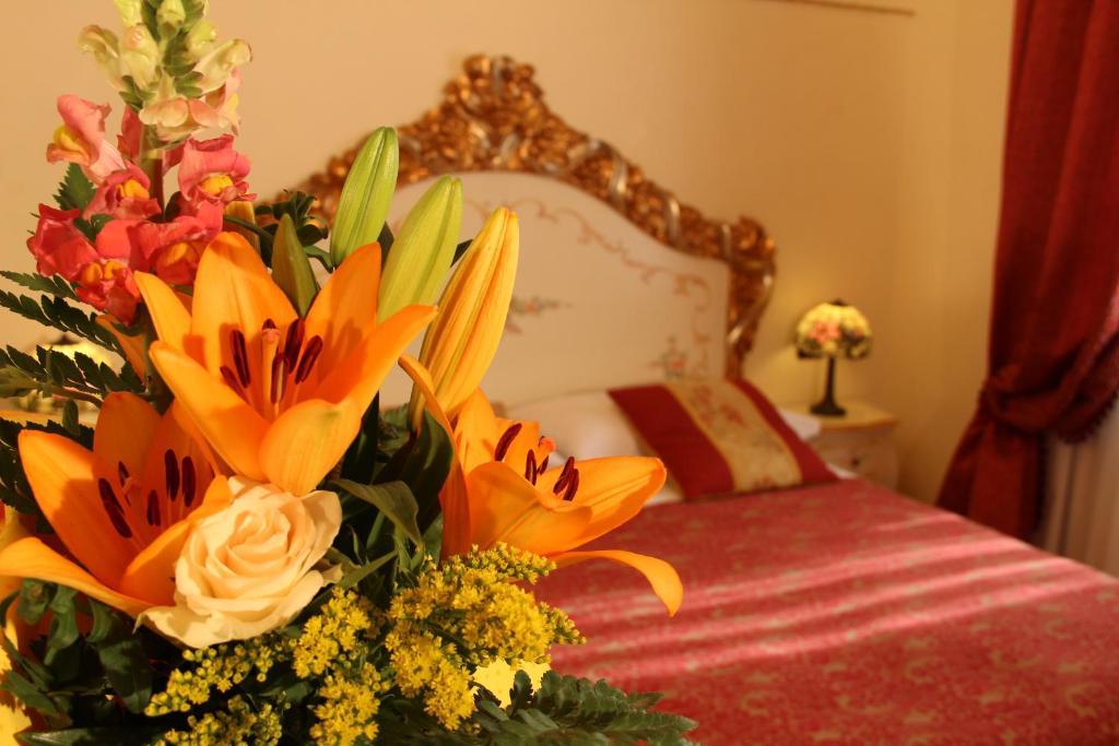 Letto o letti in una camera di Venice Inn