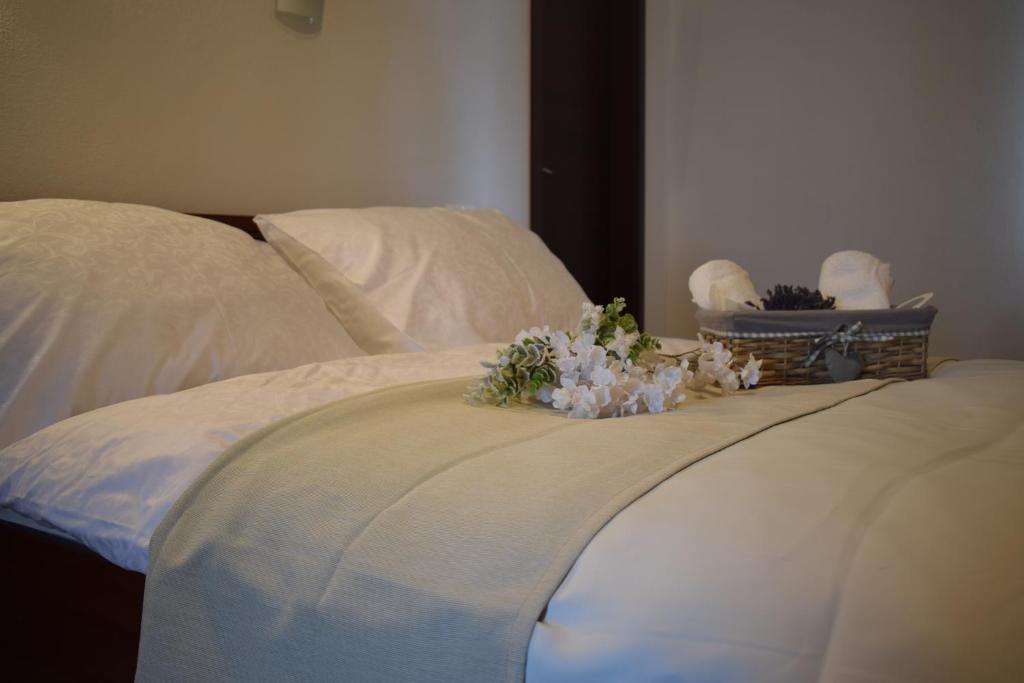 Posteľ alebo postele v izbe v ubytovaní Saint Michael
