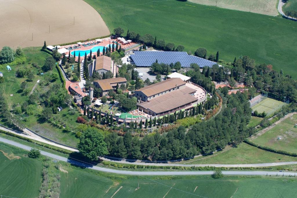 Hotel Fattoria Belvedere с высоты птичьего полета