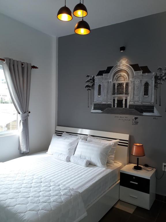 Un ou plusieurs lits dans un hébergement de l'établissement Lala Hostel