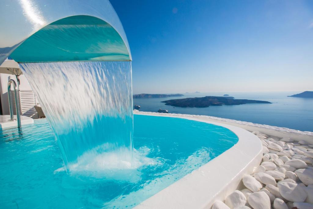 The swimming pool at or near Chic Hotel Santorini