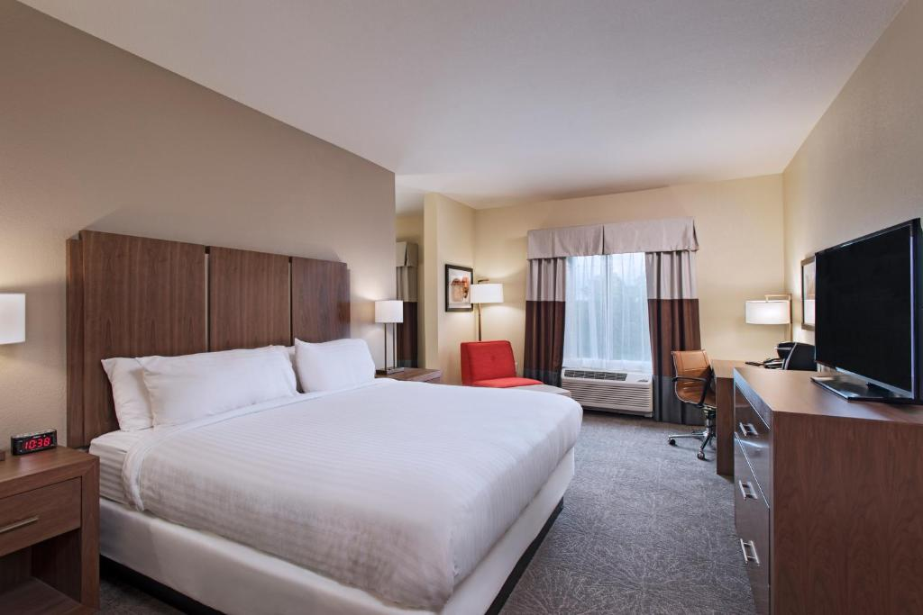 A room at the Holiday Inn Express & Suites Austin NW - Four Points.