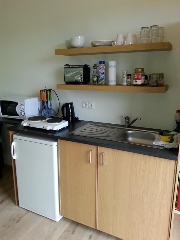 維塔菲爾旅館廚房或簡易廚房