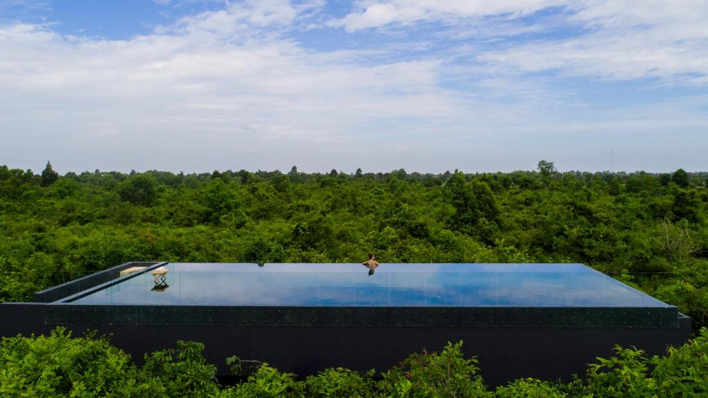 A view of the pool at The Beige or nearby