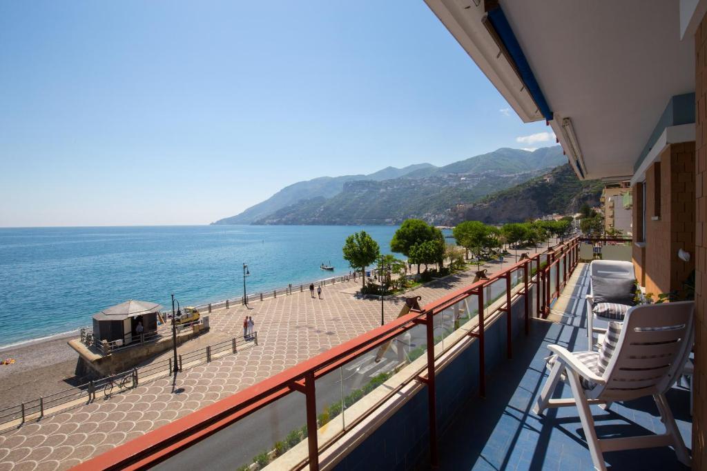 A balcony or terrace at Angelina Apartments Amalfi Coast