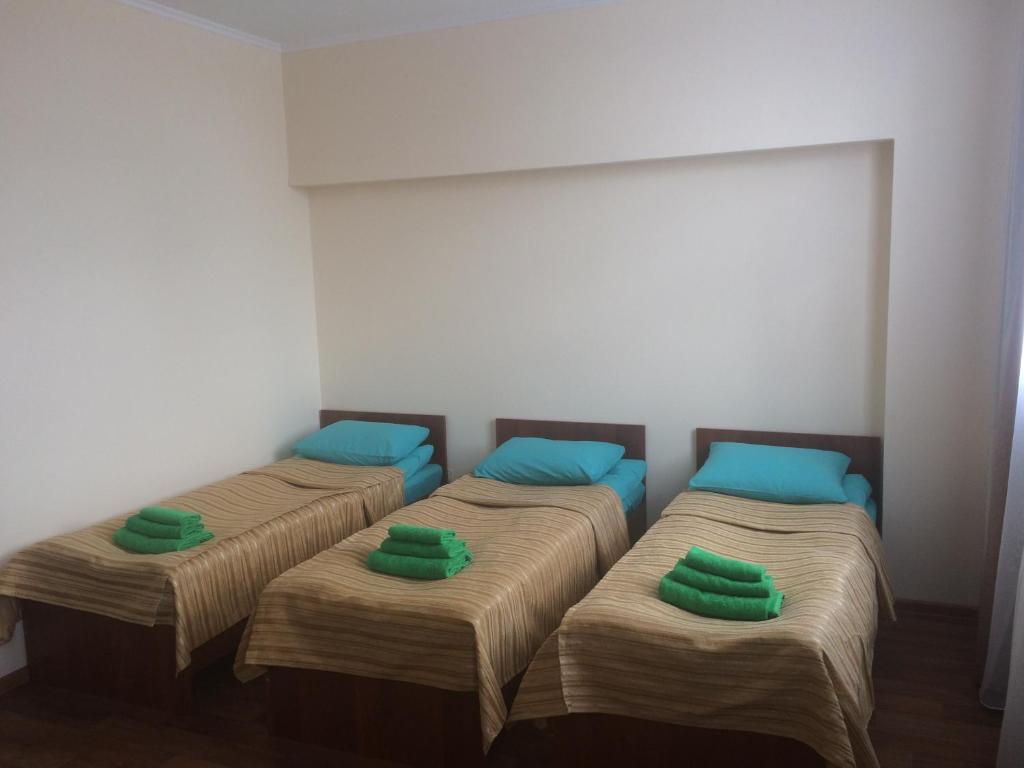 Кровать или кровати в номере Hotel Onego