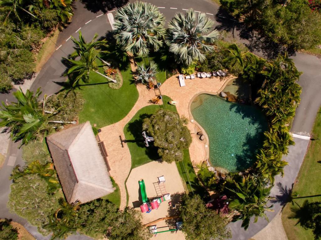 A bird's-eye view of BIG4 NRMA Atherton Tablelands Holiday Park