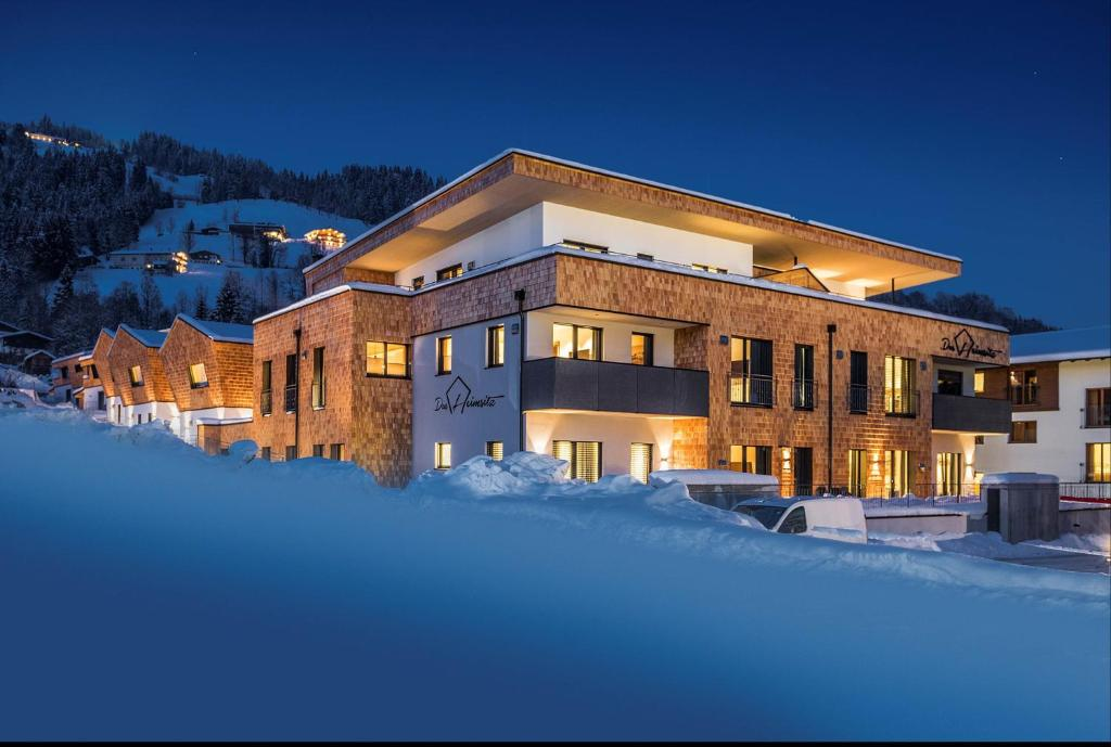Das Heimsitz during the winter