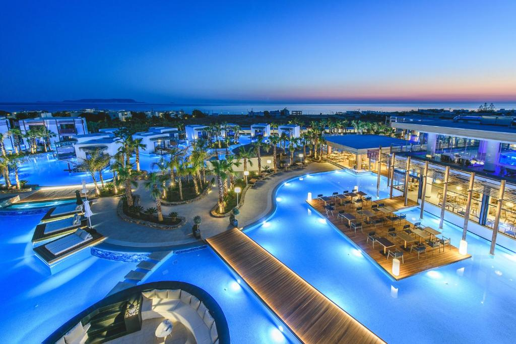 A view of the pool at Stella Island Luxury Resort & Spa (Adults Only) or nearby
