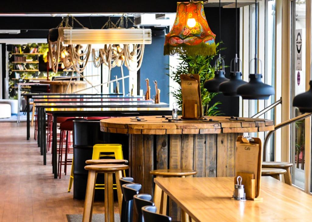 El salón o zona de bar de Generator Copenhagen