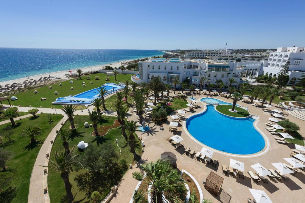 A view of the pool at Iberostar Selection Kantaoui Bay or nearby
