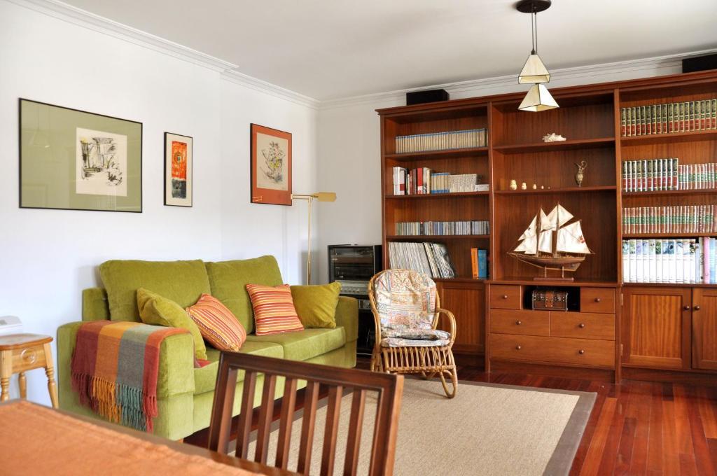 A seating area at Casa Pilar