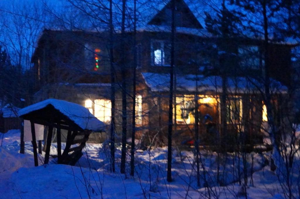 Гостевой Дом Грушанка зимой