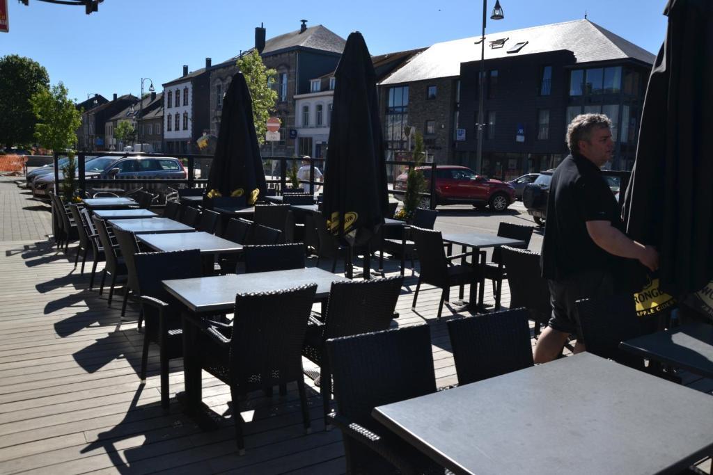 Een restaurant of ander eetgelegenheid bij Auberge Le Temps des Saveurs