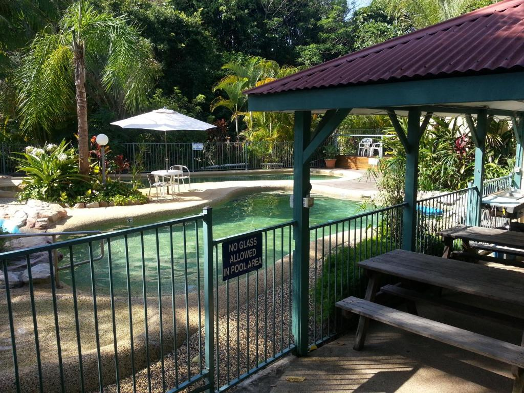 The swimming pool at or near Tropic Oasis
