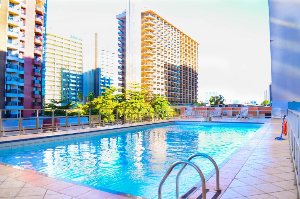 The swimming pool at or near ABC Apart Hotel
