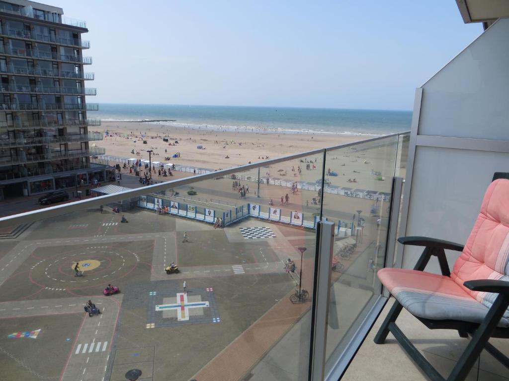 Ein Balkon oder eine Terrasse in der Unterkunft Residence Wembley