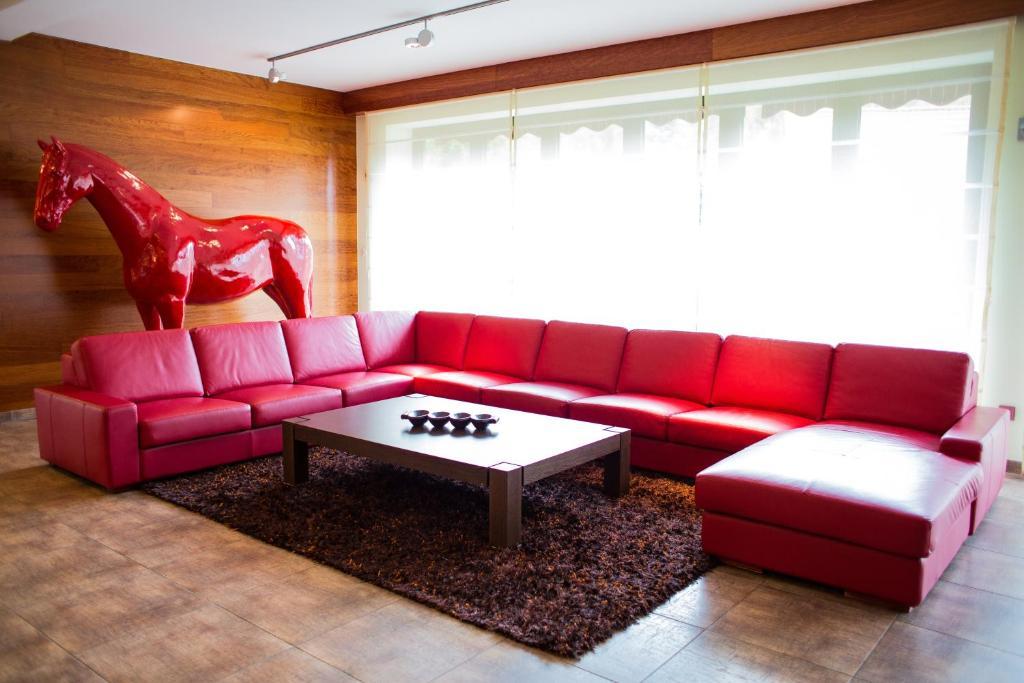 Część wypoczynkowa w obiekcie Luxury Villa & SPA
