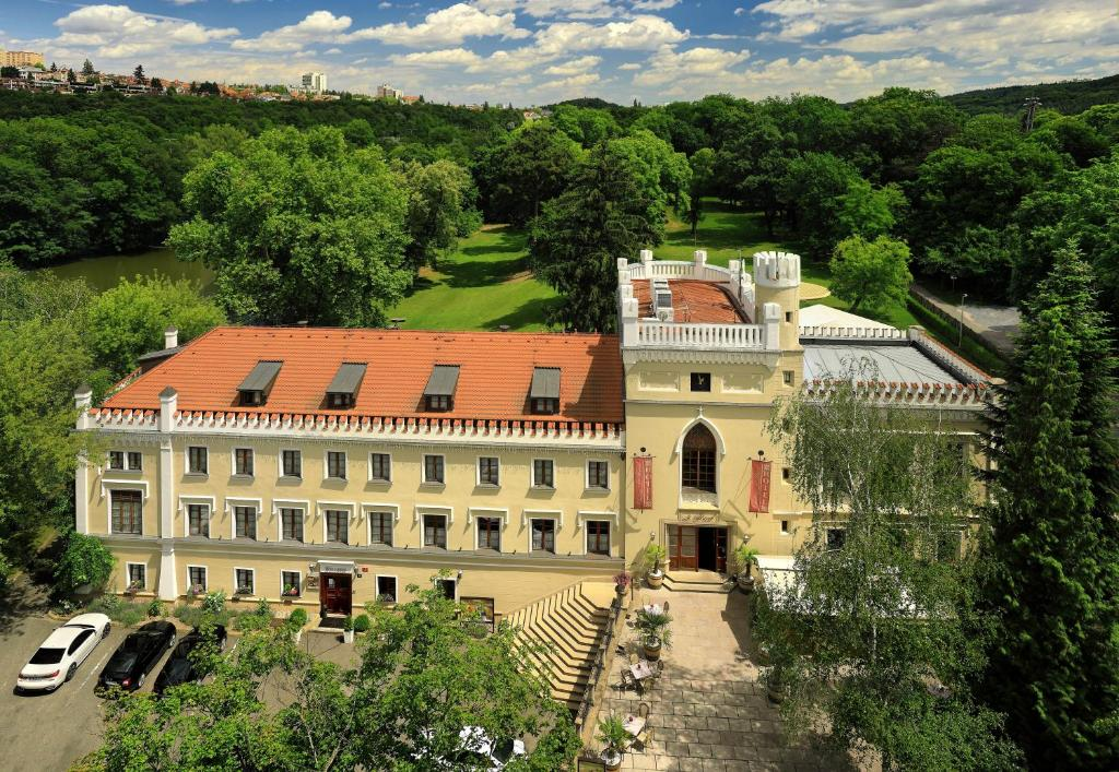 A bird's-eye view of Chateau St. Havel - Wellness Hotel