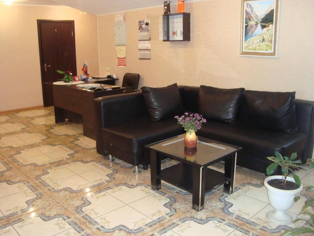 Гостиная зона в Отель Акрополь