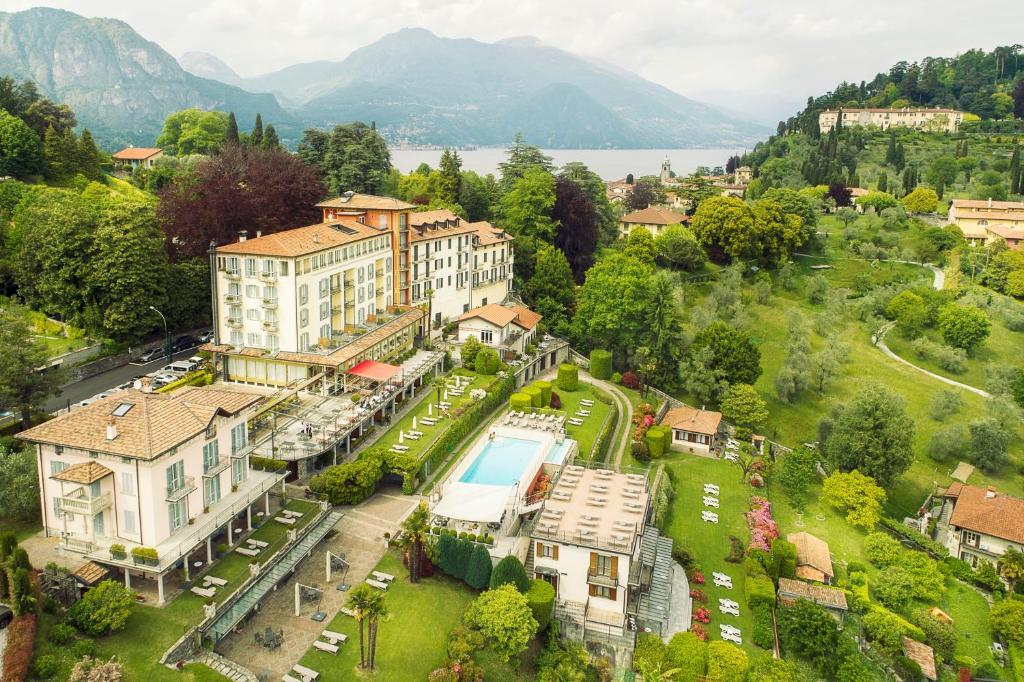 A bird's-eye view of Hotel Belvedere