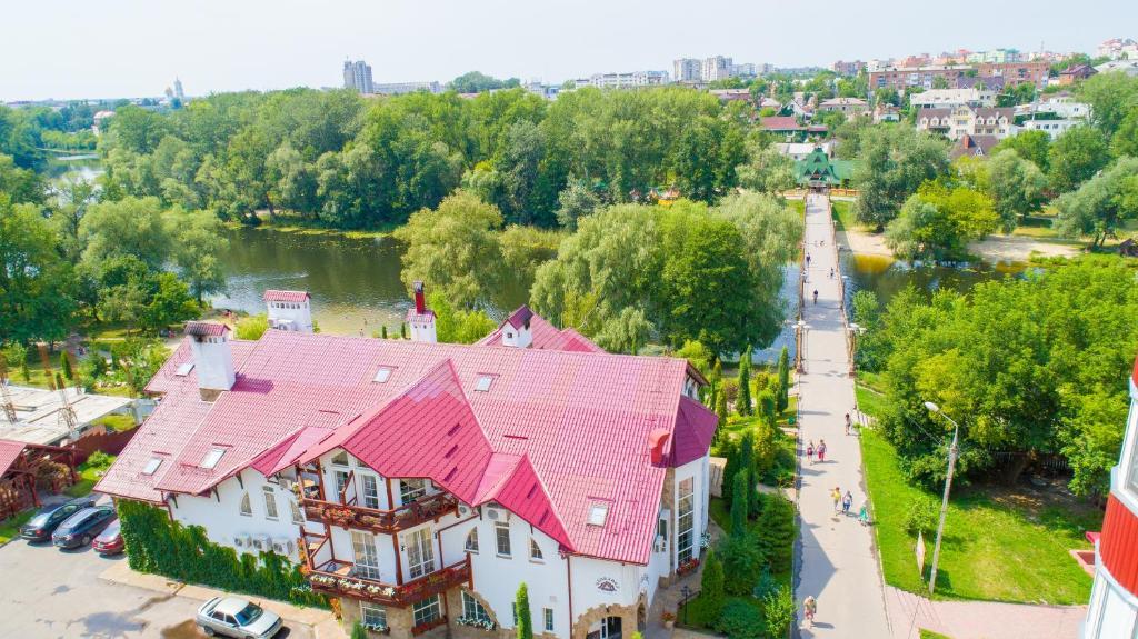 A bird's-eye view of Zdybanka