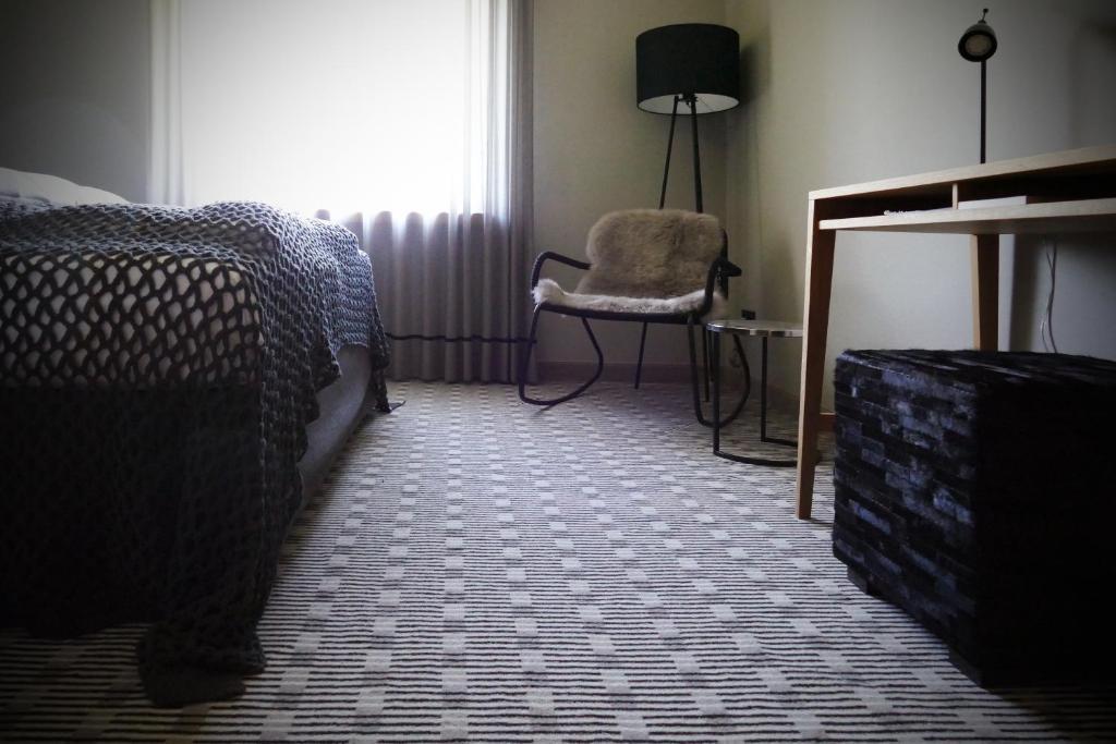 Кровать или кровати в номере SeeHotel & Restaurant die Ente
