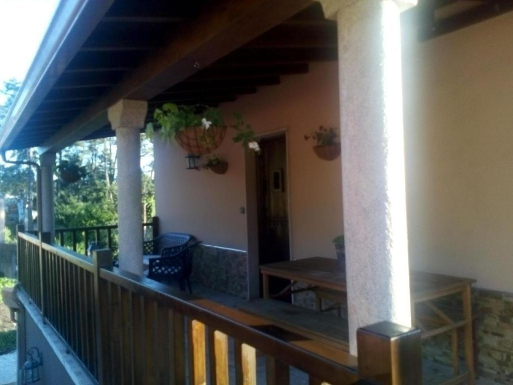 A balcony or terrace at Casa Louro