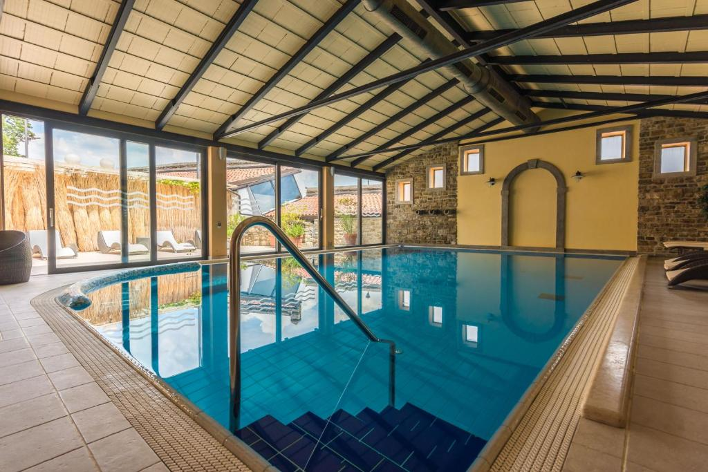 The swimming pool at or near Boutique Hotel Kaštel