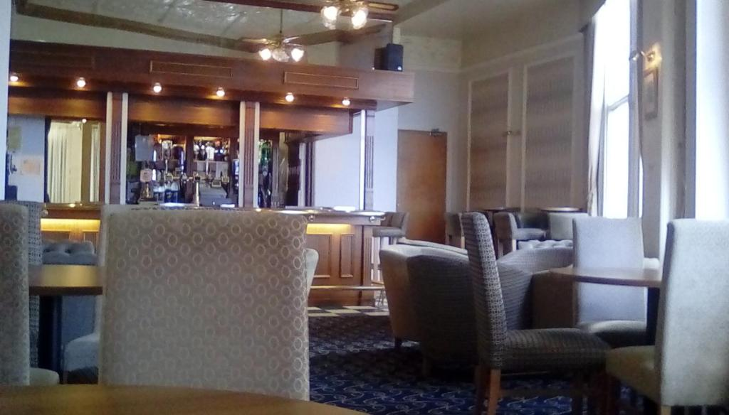 The lounge or bar area at The Hydro Hotel