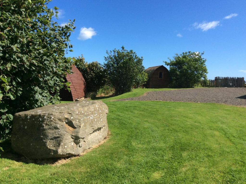 A garden outside Bower Wigwam