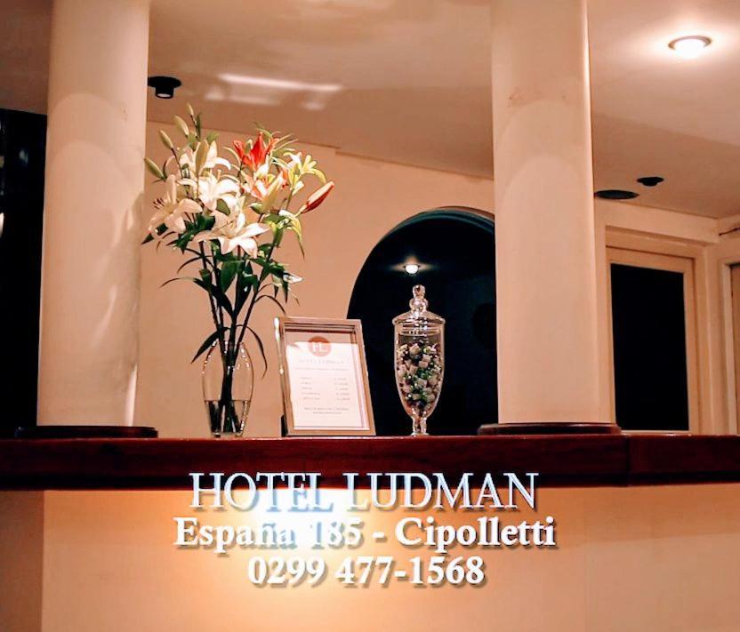 El lobby o recepción de Hotel Ludman