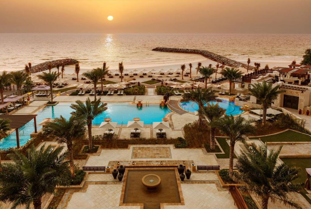 A view of the pool at Ajman Saray, a Luxury Collection Resort, Ajman or nearby