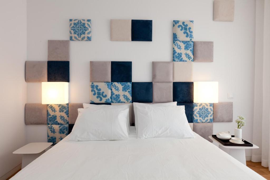 Cama o camas de una habitación en InPatio Guest House