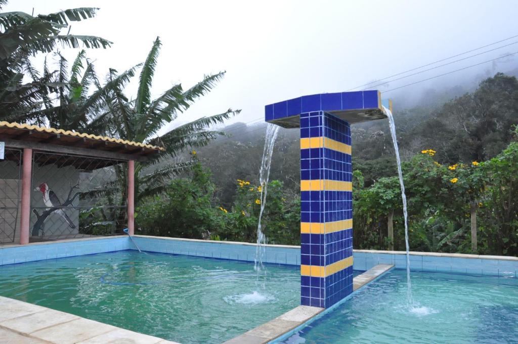 The swimming pool at or near Val Paraiso Pousada