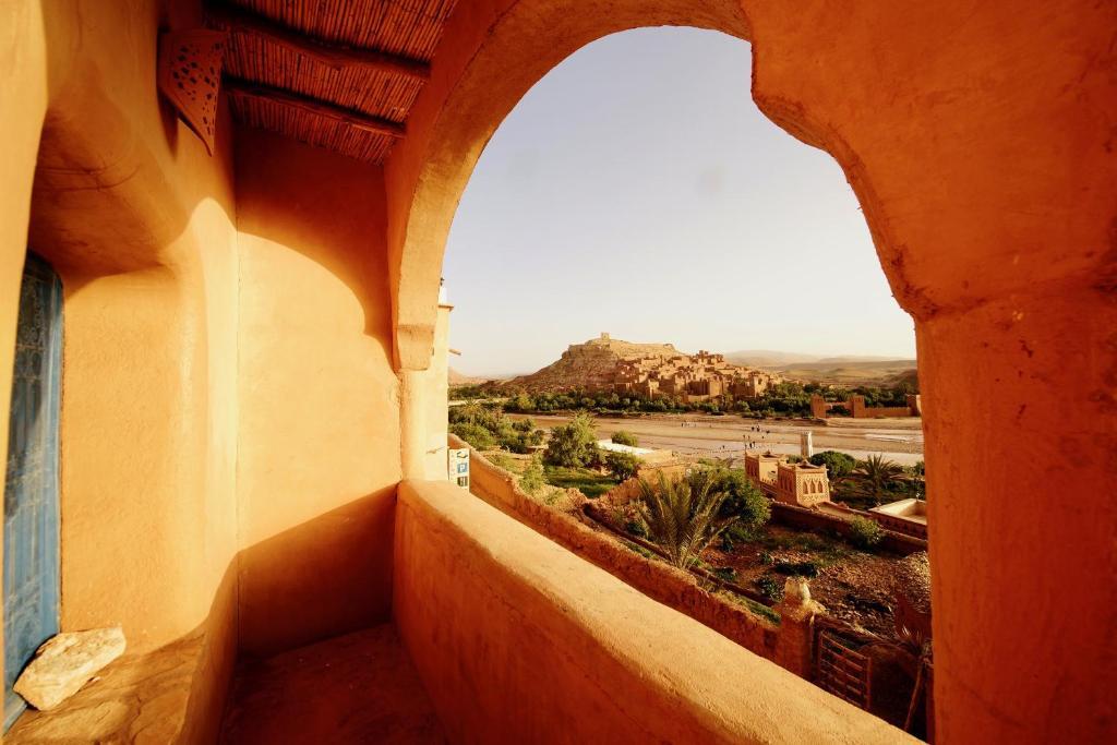 Een balkon of terras bij Dar Mouna La Source