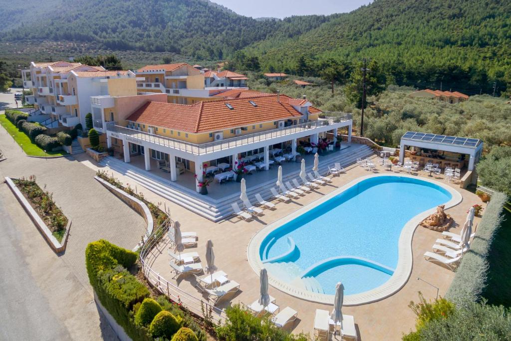 A view of the pool at Louloudis Boutique Hotel & Spa or nearby
