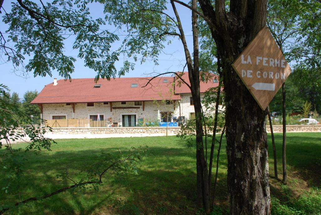 Het gebouw waarin de bed & breakfast zich bevindt