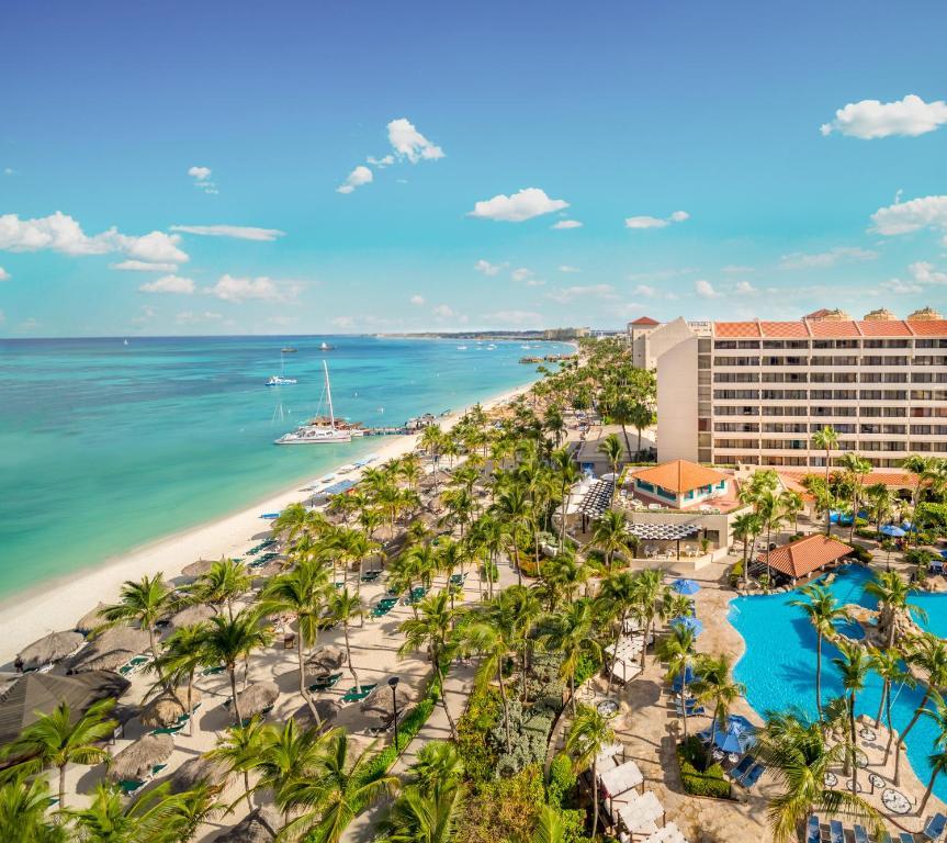 Pohľad z vtáčej perspektívy na ubytovanie Barceló Aruba - All Inclusive