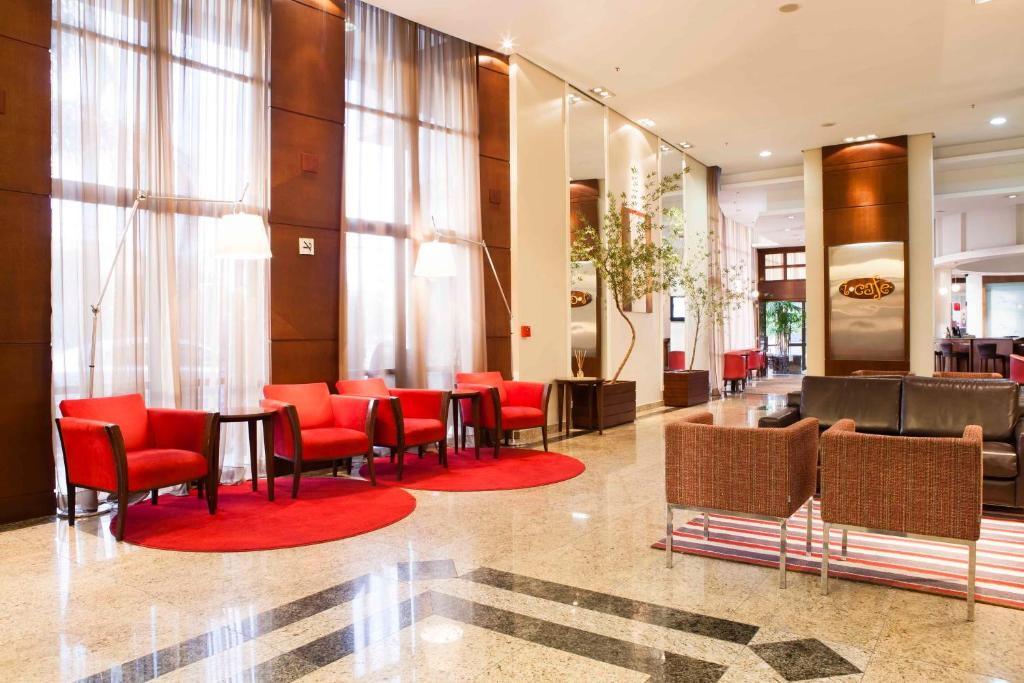 O lounge ou bar de Intercity Porto Alegre