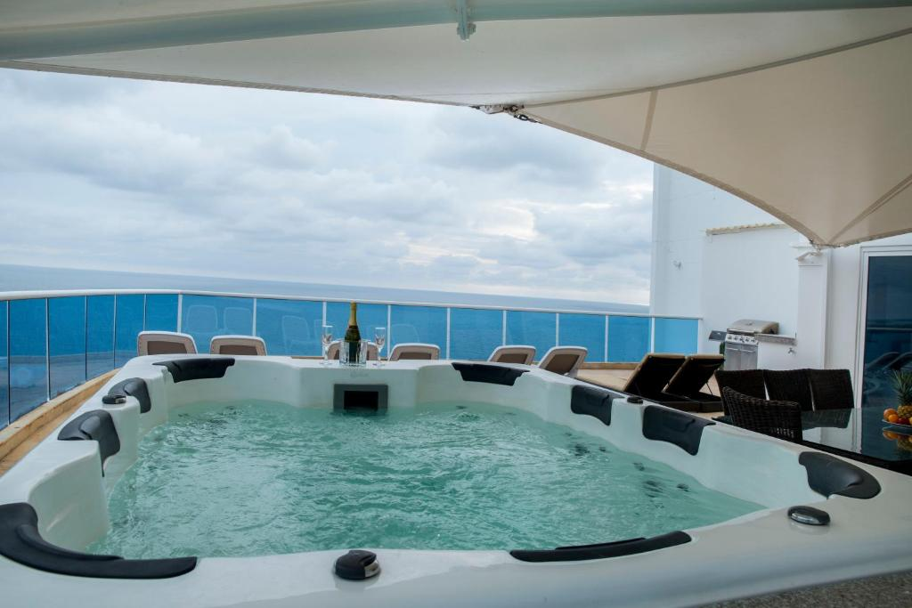 Spa and/or other wellness facilities at OCEAN VIEW SPACIOUS PENTHOUSES WITH BIG TERRACES AND OVER 318 Square Meters