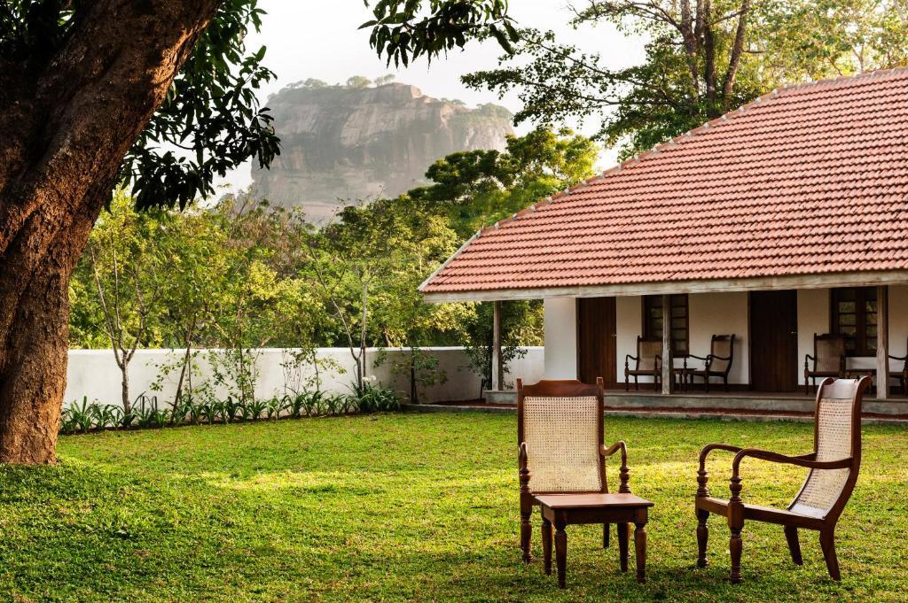 A garden outside EKHO Sigiriya