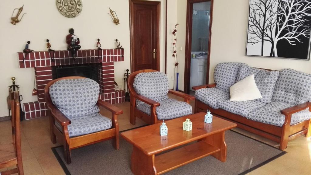 A seating area at Casa Rustica Neiro