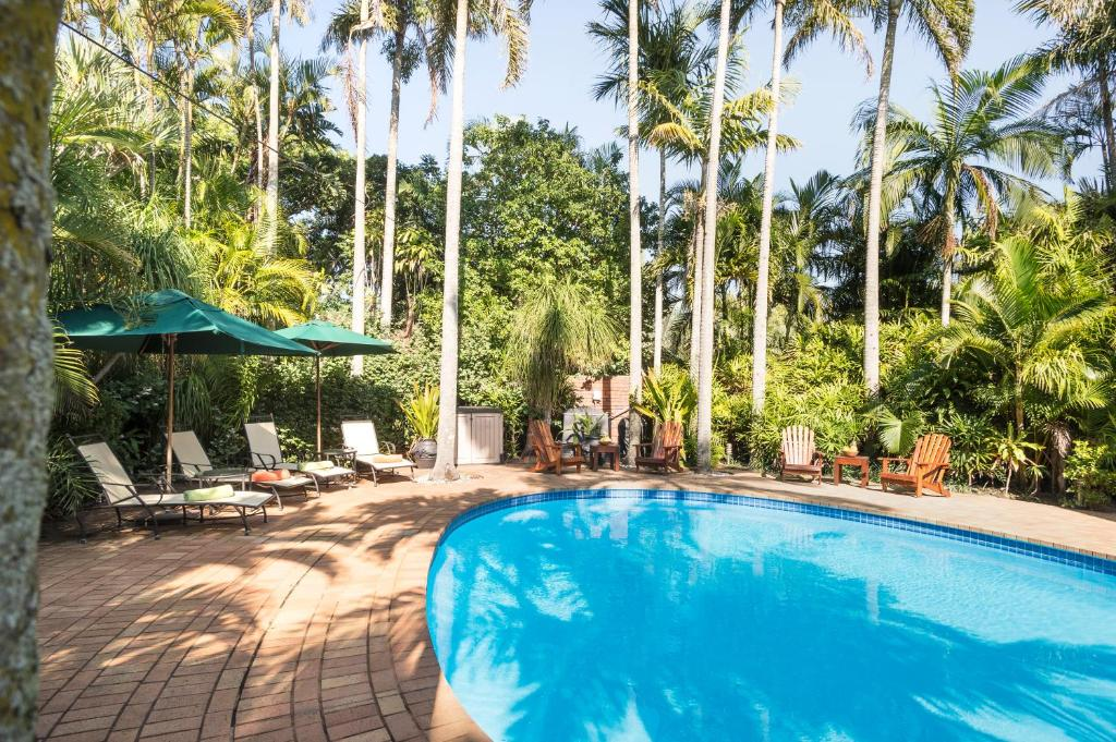 The swimming pool at or near Avalone Guest House