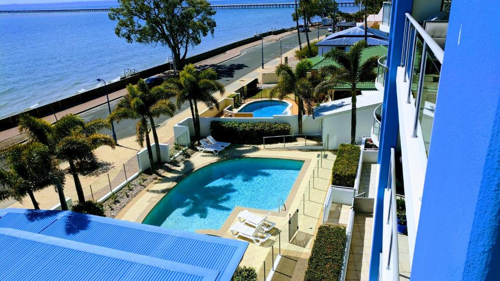 A view of the pool at Pier One or nearby