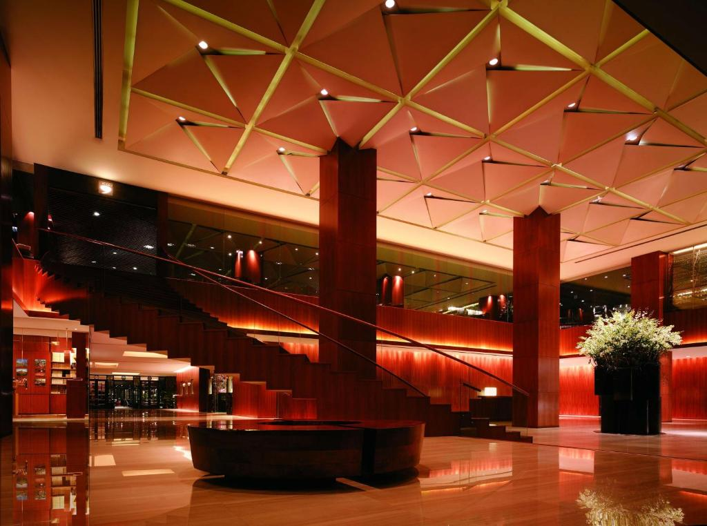 The lobby or reception area at Grand Hyatt Singapore (SG Clean)
