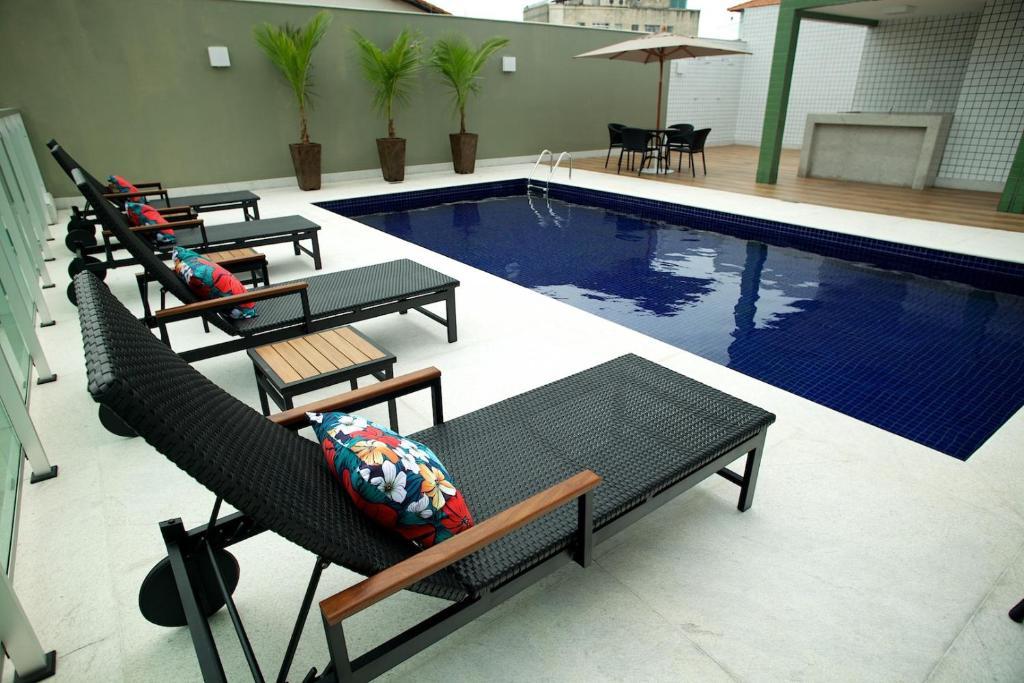 The swimming pool at or near Hotel Eldorado Flat