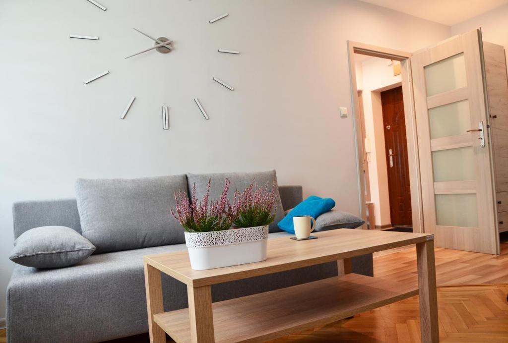 Część wypoczynkowa w obiekcie Apartament Leliwa - Centrum