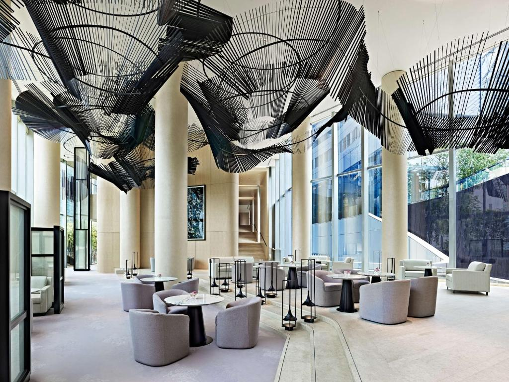 A restaurant or other place to eat at Park Hyatt Bangkok